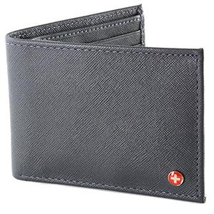 best alpine swiss mens leather bifold wallet