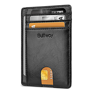 best buffway minimalist front pocket slim wallet