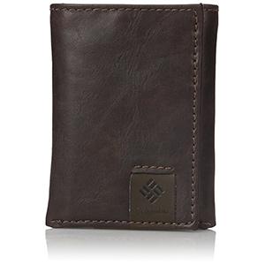 best columbia mens RFID tri fold wallet