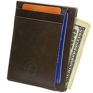 best hammer anvil RFID slim wallet