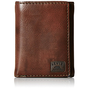 best Levis Mens tri fold wallet