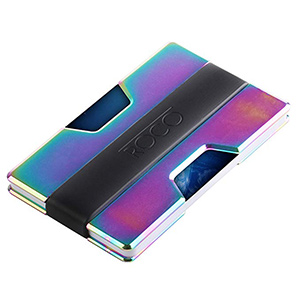 best roco minimalist aluminium slim wallet