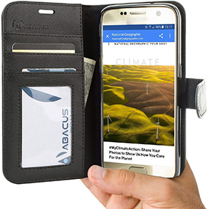 Best abacus 24/7 Galaxy S7 Wallet Case