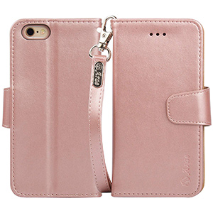 best Arae iPhone 6s Wallet Case with stand
