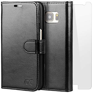 Best ocase leather flim Galaxy S7 Wallet Case
