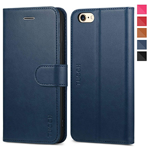 best tucch iPhone 6s premium leather Wallet Case